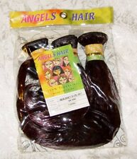 "NEW JANET 3 CURL-WET BROWN Hair Extensions WE 50W, Color T1B/99 12"" length, 360"""