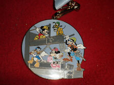 Disney Fab 5 Labor Day 2007 Lanyard, Medallion & Pin set New Mickey Donald Goofy