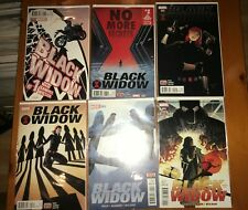 Black Widow 1-9 - 9 Books - High Grade Comic Book B27-26