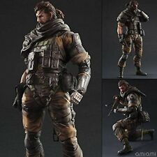 NEW Metal Gear Solid V phantom pane PLAY ARTS Kai Venom Snake Gold Tiger F/S