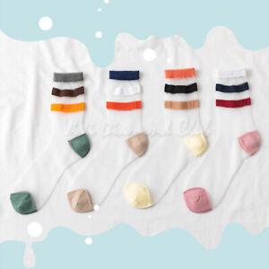 Fashion Women Transparent Ultra Thin Crystal Silk Sheer Mesh Ankle Striped Socks