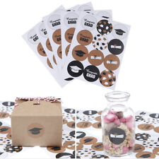 60pcs Graduation Sealing Stickers Paper Labels for DIY Gifts Packaging Decor FF