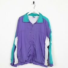 Vintage 90s Zip Up Soft Shell Windbreaker Jacket Purple XL