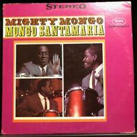 Afro-Cuban Jazz LP MONGO SANTAMARIA Mighty Mongo LP EX Fantasy Records Latin