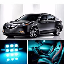 15pcs LED ICE Blue Light Interior Package Kit for Acura TSX 2009-2015