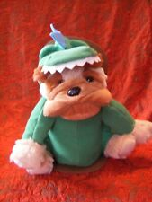 """TOP SHOP DOG MICRO  HOTTIE  SOFT CUDDLY TOY 11"""" APPROX ON PACKAGING VGC (B113)"""