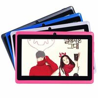 "7"" Inch Tablet PC Android 4.2 4GB Memory Dual Core Dual Cameras Wifi Multi-Color"