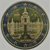Germany 2016 F - 2 Euro Commemorative Coin (UNC)