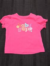 Babygap Baby Girl Embroidery Short Sleeve Top Size 3-6M