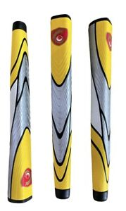 Oversize Putter Grip Yellow - Silver New