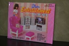 RETRO VINTAGE GLORIA FURNITURE 1990S FOR BARBIE AND OTHER DOLLS LIVING ROOM