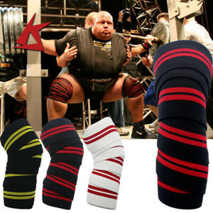 Harbinger Red Line Weight Lifting Knee Wraps
