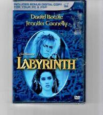 JIM HENSON'S * LABYRINTH DVD, 2007, DAVID BOWIE * BRAND NEW FREE SHIPPING