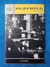 Luther - Lunt-Fontanne Theatre Playbill - February 1964 - John Heffernan