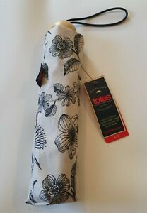 New Totes Super Mini Umbrella stone floral BNWT  strong quality