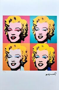 Andy Warhol - Lithograph Numbered Ed.
