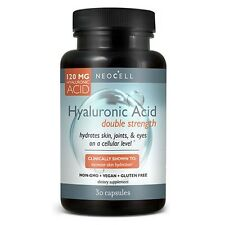 Neocell Hyaluronic Acid Double Strength 30 Capsules Brand New