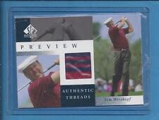 2001 spAuthentic Preview Threads Golf Shirt  TOMM WEISKOPF