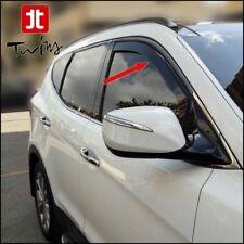 Déflecteurs de vent pluie air teintées Hyundai Santa Fe III depuis 2013 Santafe