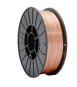 Mild Steel Mig Welding Wire Reel Roll Spool Gas Argon CO2 0.8mm 1kg Copper Coate