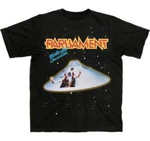 Parliament Mothership Connection Funkadelic Funk Music Band Tee Shirt CLN-1001