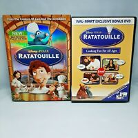 Disney Pixar Ratatouille WALMART EXCLUSIVE BONUS DVD with Slipcover COMPLETE