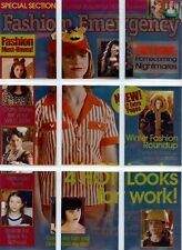 Buffy Women of Sunnydale Full 9 Card Fashion Emergency Chase Set from Inkworks