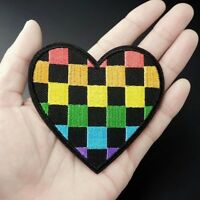 Woven IRON-ON PATCH Sew Embroidery Applique Fashion Badge GIRL GANG #b