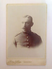 Turn of the Century Black and White Military Photo - GREAT