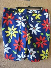 LOUDMOUTH MEN'S SIZE 32 SHE LOVES ME NOT GOLF SHORTS (NWT)