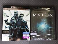 The Matrix 4K Ultra HD + Blu-ray + Digital HD New Sealed w/Slip Cover Action