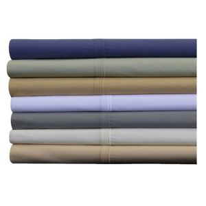 Breathable Crispy Soft Percale 100% Cotton Percale Pillowcases - Set Of Tow