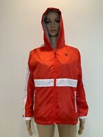 US Polo Assn.Women's Jacket Full Zip Hooded Pocket Red Size M Long Sleeves #A