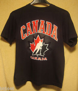 TEAM CANADA Boys XL Tee T Shirts Officially Licensed BRAND NEW with TAGS