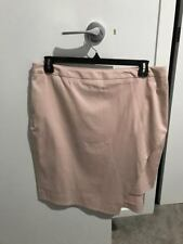 BNWT Veronika Maine (Cue Brand) Pink Skirt Size 16 RRP: $179.00