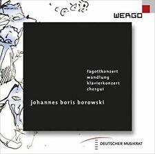 D - Johannes Boris Borowski Fagottkonzert Wandlung Klavierkonzert Chergui