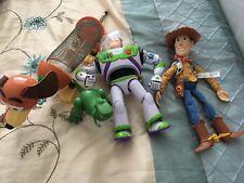 Toy Story Figure: WOODY BUZZ LIGHTYEAR Dinosaur & Slinky Cane Set