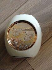 ART OF CHOKIN JAPANESE VASE 24K GOLD EDGED