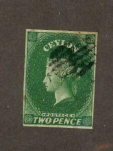 Ceylon Scott 4 Used VF (Catalog Value $72.50)