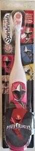 New Spinbrush Power Rangers Battery Powered Toothbrush Arm & Hammer