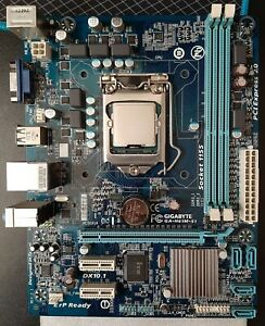 Gigabyte GA-H61M-S1 rev. 2.1 Motherboard + Intel Core i3-3240 CPU