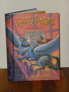 Harry Potter Trans. Haris Poteris ir Azkaban Kalinys Alma Littera Lithuianian HB