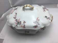 Theodore Haviland Limoges France Dish Soup Bowl Flower Pattern