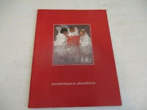Saks Fifth Avenue catalog Holiday/Christmas 1980 - Folio