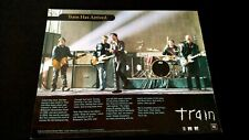 "Train "" Drops Of Jupiter "" 2001 Rare Original Print Promo Poster Ad"