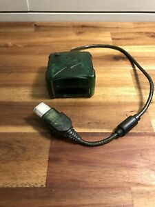 Intec Wireless Controller Receiver Dongle For Original Xbox (Used) Clear Green