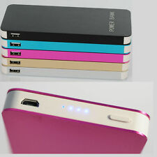 100000mAh Power Bank Dual USB Battery Portable Charger iPhone Samsung