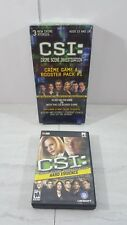 CSI: Crime Scene Investigation Crime Game & Booster Pack #1 with pc dvd