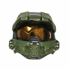 Disguise Halo Master Chief Light Up Deluxe Helmet Child Halloween Costume 24441