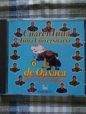 CUARENTUNA  TUNA UNIVERSITARIA DE OAXACA 20 ANOS DESPUES LATIN MEXICO CD